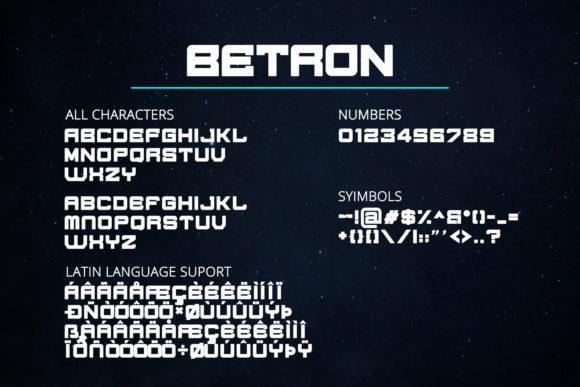 فونت Berton